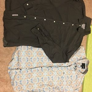 Men's button down bundle